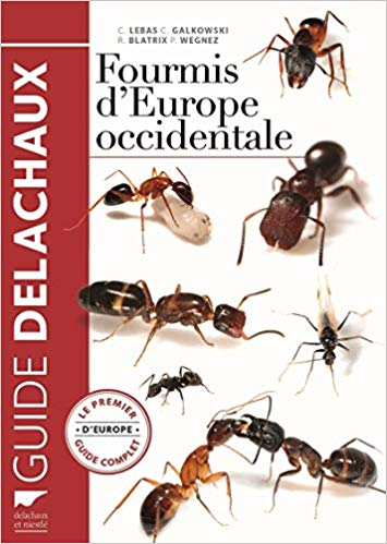 Fourmis d'Europe occidentale. Le Premier guide complet d'Europe